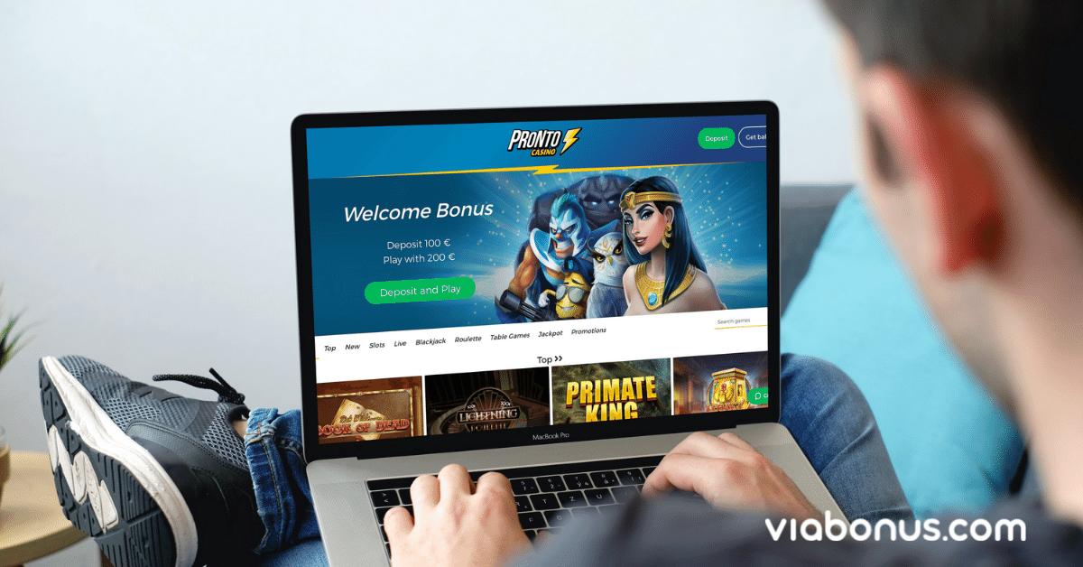 Pronto Casino Casino Bonus | Viabonus.com
