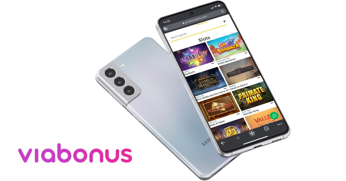 Pronto Mobile Casino Slot games | Viabonus.com