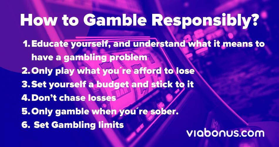 How to gamble responsibly   Viabonus.com