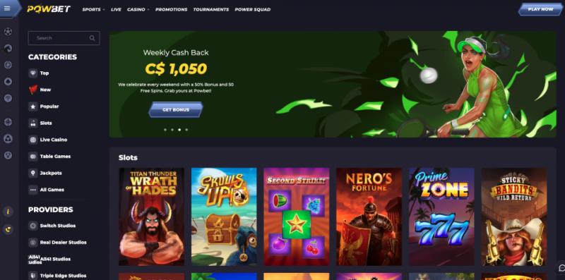 Powbet Casino Bonus | Viabonus.com