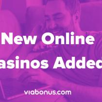 New Online Casinos   Viabonus.com