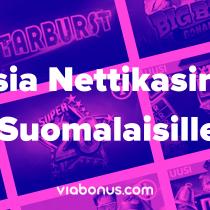 Uusia Nettikasinoita Suomalaisille | Viabonus.com