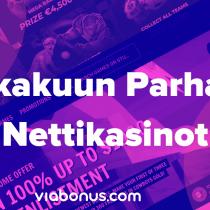 Lokakuun Parhaat Nettikasinot | Viabonus.com